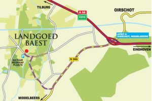 Landgoed Baest - Routebeschrijving